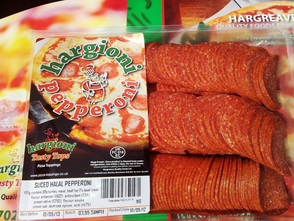 Halal premium pepperoni - Hargreaves Quality Foods Limited